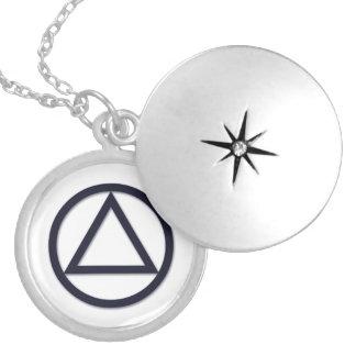 A.A. Symbol Necklace