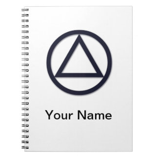A.A. Symbol Notebook