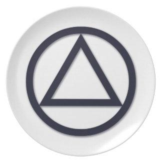 A.A. Symbol Plate
