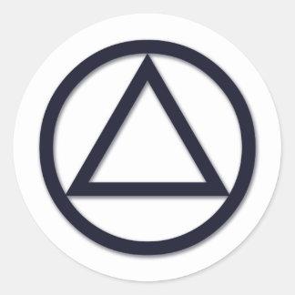 A.A. Symbol Sticker
