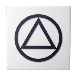 A.A. Symbol Tile