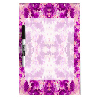 A abstract pink fuchsia pattern. Dry-Erase board