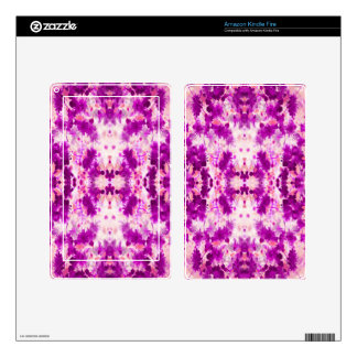 A abstract pink fuchsia pattern. kindle fire skin