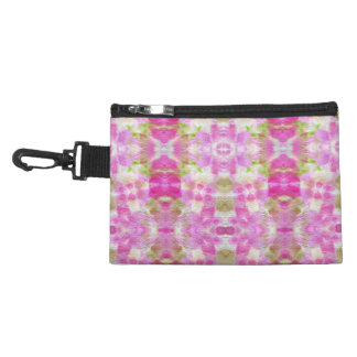 A abstract pink paper grunge watercolor Pattern. Accessory Bags
