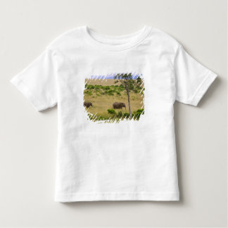 A African Elephant grazing in the fields of the 2 Toddler T-shirt