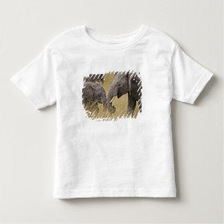 A African Elephant grazing in the fields of the Toddler T-shirt