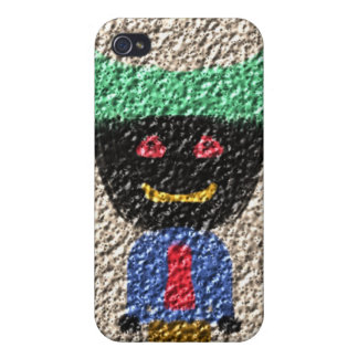 A Alien person Cases For iPhone 4