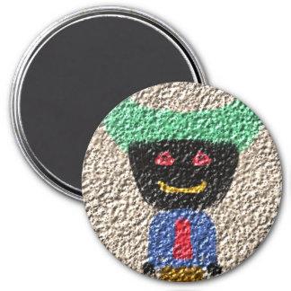 A alien person fridge magnets