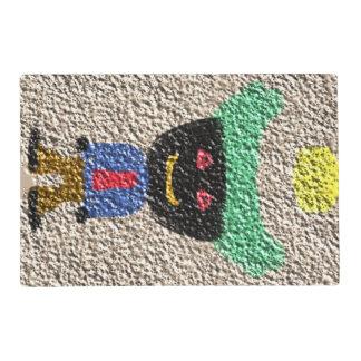 A alien person placemat