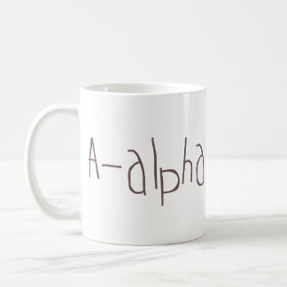 A-alpha NATO Classic White Coffee Mug