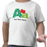 A Alphabet Letter Personalized Tshirts