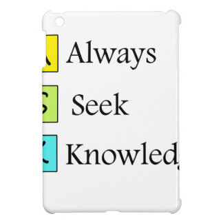 a always s seek k knowledge case for the iPad mini