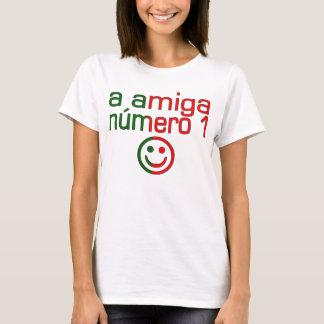 A Amiga Número 1 in Portuguese Flag Colors 4 Girls T-Shirt