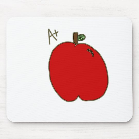 A+ Apple Mouse Pad