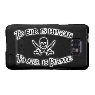 ¡A Arr es el pirata! Galaxy SII Carcasa