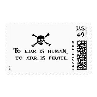 A Arr es el pirata Sellos