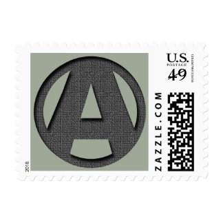 A as in freedom stamp