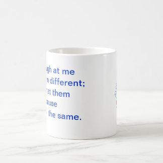 A+ Autism Plus UK BICOLOR Logo Mug quote different
