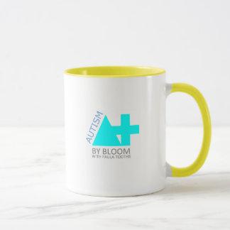 A+ Autism Plus UK SUPERPOWER Logo Mug yellow ring