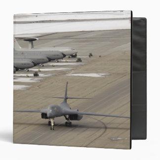 A B-1B Lancer arrives at Eielson Air Force Base Binder