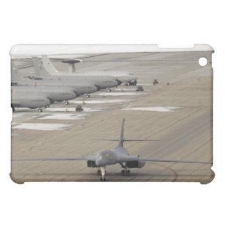 A B-1B Lancer arrives at Eielson Air Force Base iPad Mini Covers