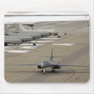 A B-1B Lancer arrives at Eielson Air Force Base Mouse Pad