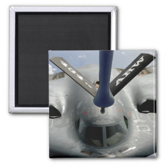 A B-2 Spirit aircraft getting in position Refrigerator Magnet