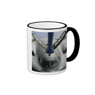 A B-2 Spirit aircraft getting in position Coffee Mugs