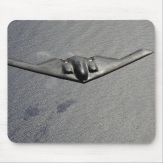 A B-2 Spirit flies over the Pacific Ocean Mouse Pad