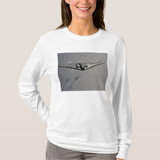 A B-2 Spirit flies over the Pacific Ocean T-Shirt