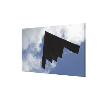A B-2 Spirit in flight Canvas Print