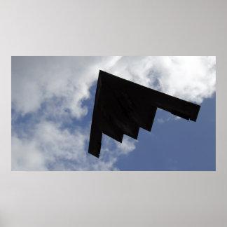 A B-2 Spirit in flight Poster