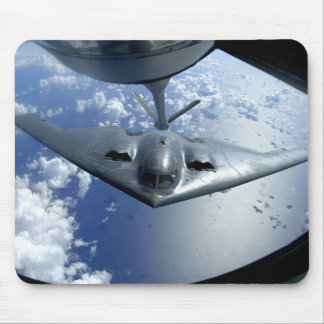 A B-2 Spirit moves into position for refueling Mouse Pad