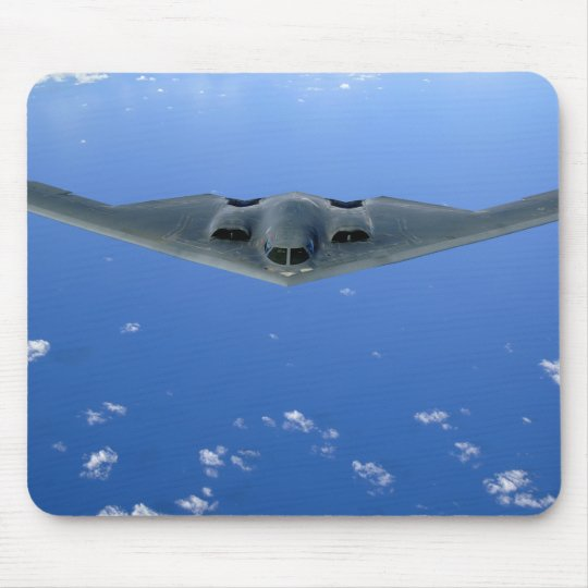 A B-2 Spirit soars through the sky Mouse Pad