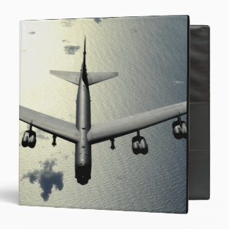 A B-52 Stratofortress in flight 2 3 Ring Binder