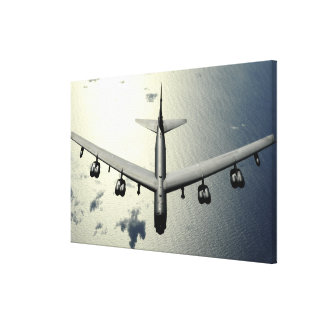 A B-52 Stratofortress in flight 2 Canvas Print