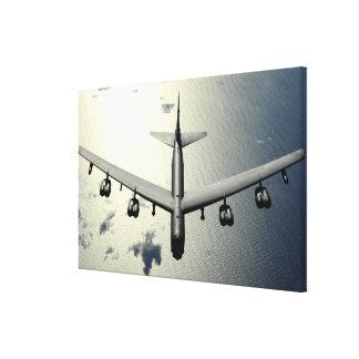 A B-52 Stratofortress in flight 2 Canvas Print