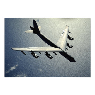 A B-52 Stratofortress in flight 2 Photograph