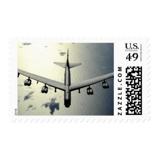 A B-52 Stratofortress in flight 2 Postage