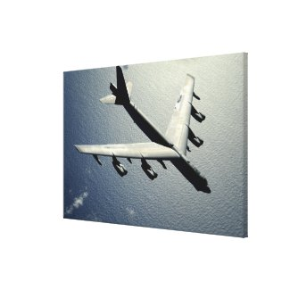 A B-52 Stratofortress in flight Canvas Print