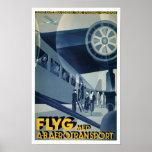 A-B Aerotransport del MED de Flyg Impresiones