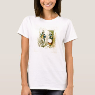 A <b>British married couple</b> stand at the doors T-Shirt