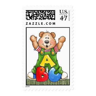 A, B, C Bear postage