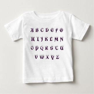 A B C D E F G H I J K L M N O P Q R S T U V W X... BABY T-Shirt