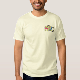 A B C EMBROIDERED T-Shirt