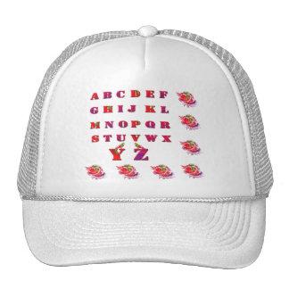 a-b-c /hats trucker hat
