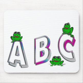 A B C MOUSE PAD
