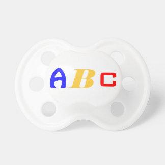 A B C. PACIFIER
