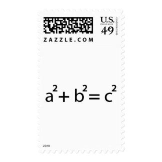 a + b = c postage stamp