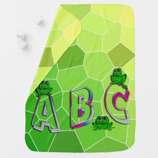 A B C SWADDLE BLANKET